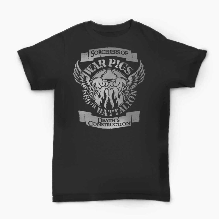 Black Sabbath War Pigs 666th Battalion  T-Shirt  BallzBeatz . com