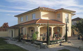 Toskana Haus Modern Bauen