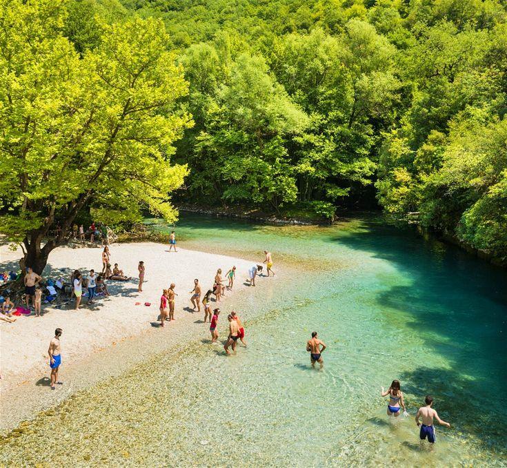 Voidomatis River, Greece #greecetravel