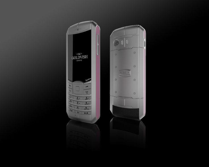 Goldvish Equilibrium - Pink Lady,   Grey metal with pink frame,  MSRP: €5.990,-