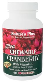 Buy Natures Plus Ultra Chewable-Cranberry withVit C (200 MG)  90 Chewable Tablets from the Vitamin Shoppe. Where you can buy Ultra Chewable-Cranberry withVit C (200 MG) and other Cranberry products? Buy at at a discount price at the Vitamin Shoppe online store. Order today and get free shipping on Ultra Chewable-Cranberry withVit C (UPC:097467039568)(with orders over $25).