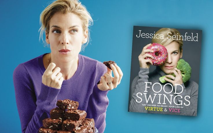 """""""Many of us swing between what we want to eat and what we have to eat,"""" says Jessica Seinfeld (yep, Jerry Seinfeld's wife). She covers both ends of that spectrum in her latest cookbook, Food Swings: 125+ Recipes to Enjoy Your Life of Virtue and Vice. These rich brownies are one of her go-to """"vice"""" [...]"""