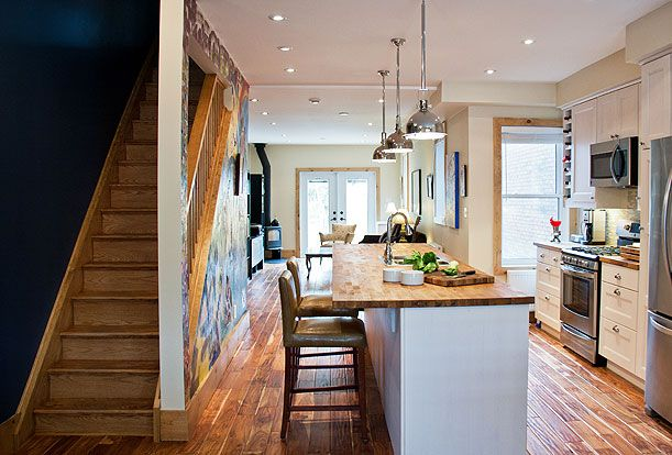 Brock Street Renovation - This full scale, whole home renovation, was done affordably with off-the-shelf products.  The result is a comfortable, friendly, energy-efficient family home.