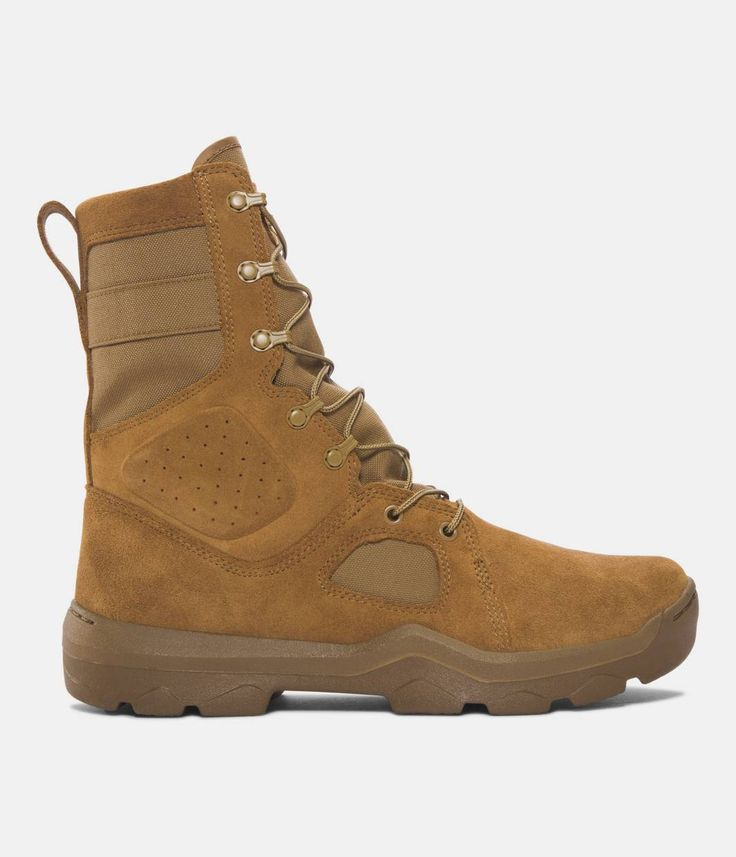 Men's UA FNP Tactical Boots, Coyote Brown, zoomed image