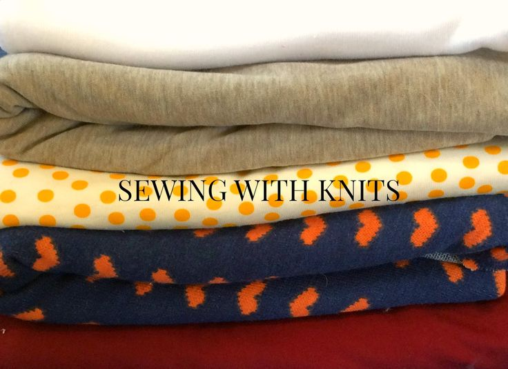 SEWING TUTORIAL: SOME TIPS FOR SEWING WITH KNITS ( BONNIE SEW-ALONG