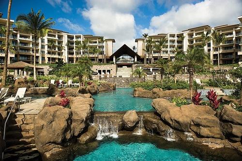 The Ritz- Carlton Club Kapalua Bay  Maui, Hawaii.