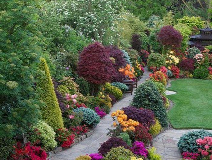 Les 25 meilleures images du tableau jardin sur pinterest for Jardin pelouse et gravier