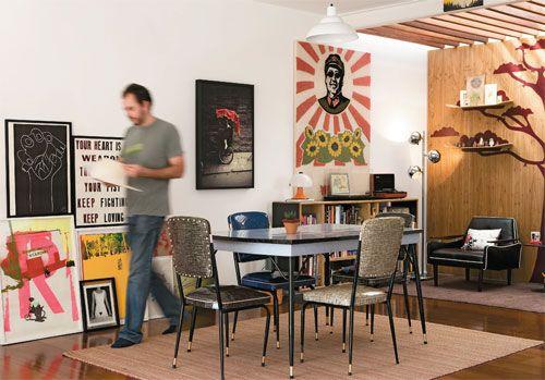 Cuadros apoyados sobre los muebles ¿sí o no?