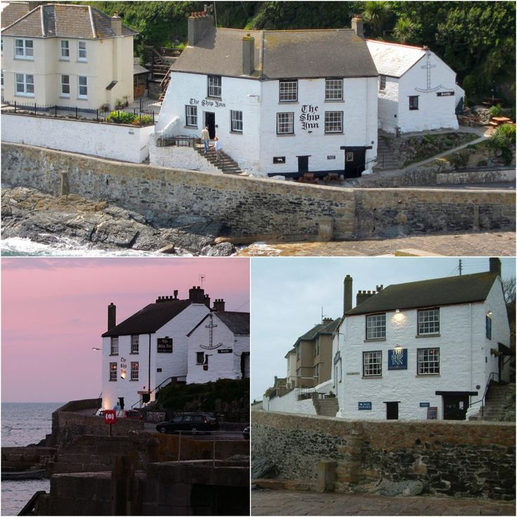 The Ship Inn, Porthleven Cornwall, very beautiful location.