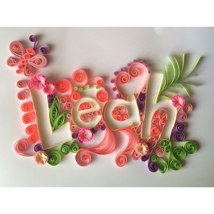 614 best quilling letters words and numbers images on pinterest paper quilling art altavistaventures Choice Image