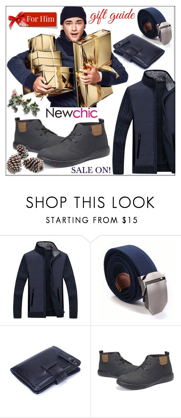 """Newchic (The Men's Collection #12)"" by whirlypath ❤ liked on Polyvore featuring H&M, men's fashion and menswear"