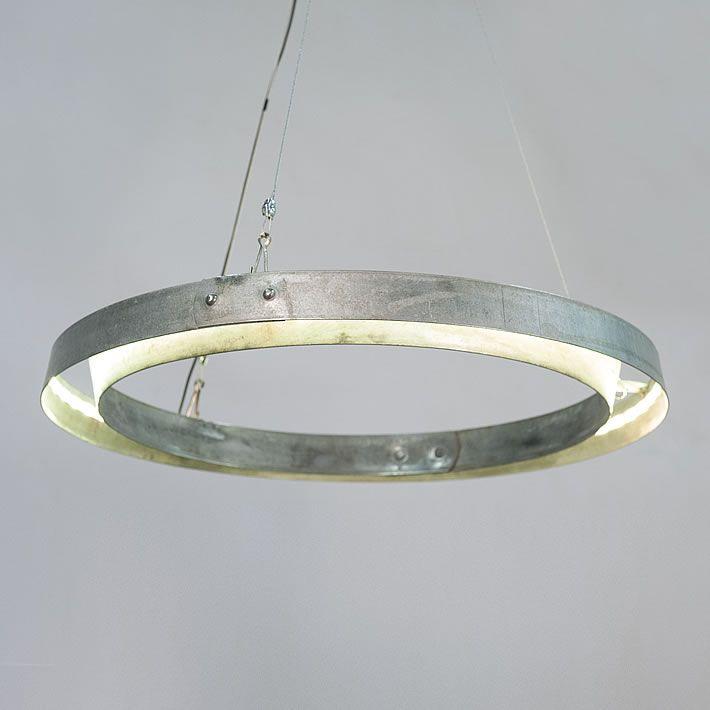 martn wine barrel hoops chandelier by balk en plank