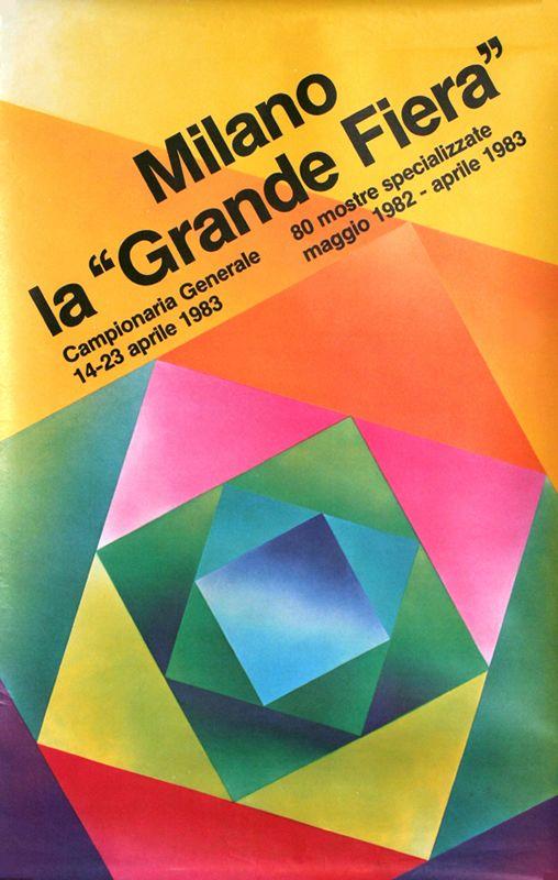 Milano La Grande Fiera 1983 by Dradi, Carlo   Shop original vintage #posters online: www.internationalposter.com
