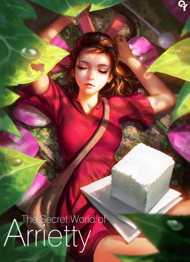 The Secret World of Arrietty by liangxinxin.deviantart.com on @DeviantArt