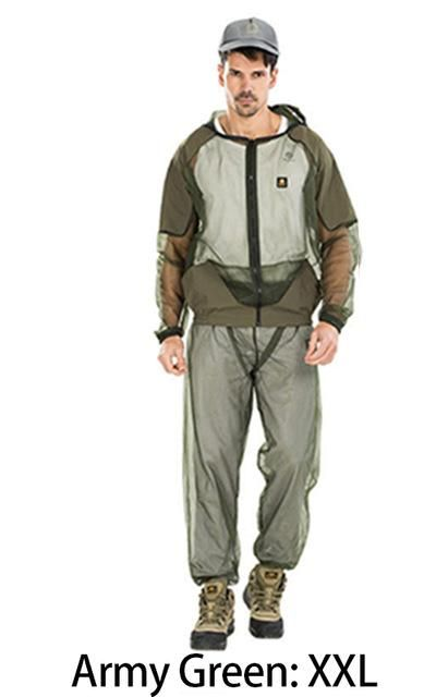 ANTI MOSQUITO FISHING SUIT BREATHABLE ANTI BEE FISHING CLOTHES QUICK-DRYING FISHING HATS AND CAPS FOR MEN