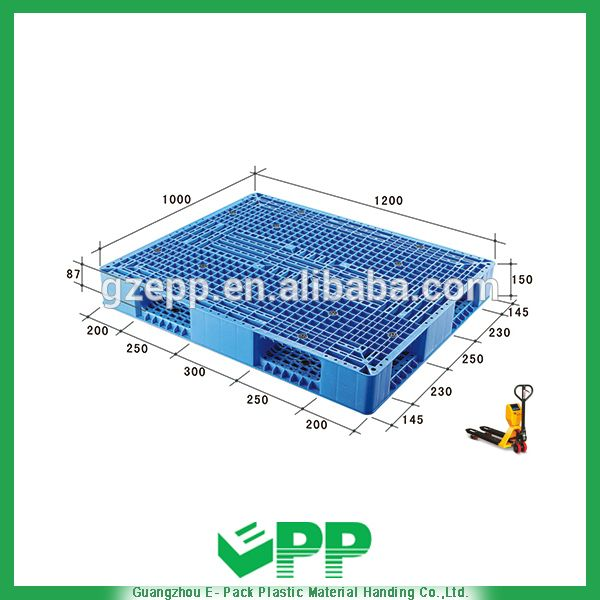 EPP-R1200*1000*150mm Eruo Double Faces Ventilated-Ventilated HDPE Pallet Size