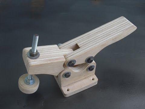 Faça seu propio grampo de aperto rapido / toogle clamps - YouTube