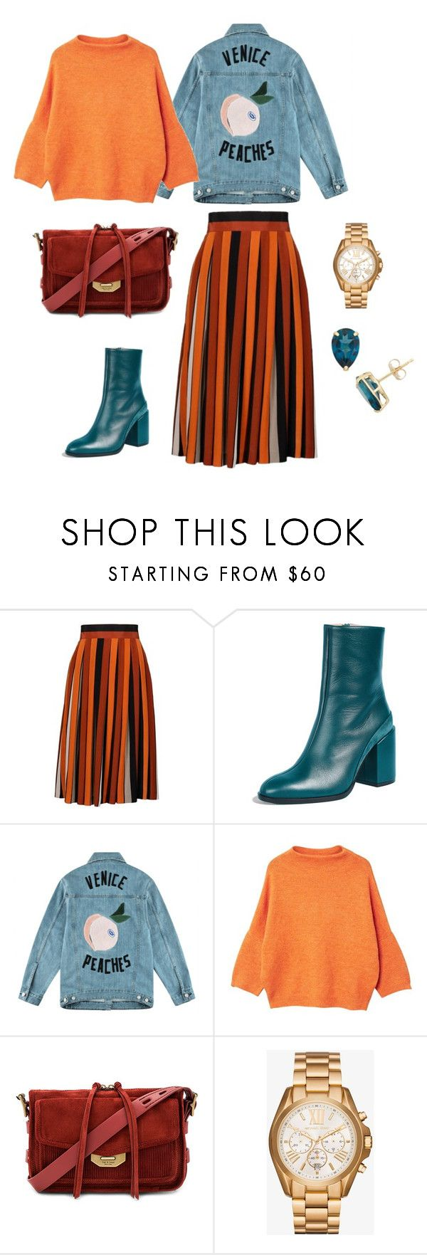 """""""Untitled #590"""" by mary-en ❤ liked on Polyvore featuring Givenchy, Dear Frances, Être Cécile, MANGO, rag & bone, Michael Kors, StreetStyle, autumn and fallfashion"""