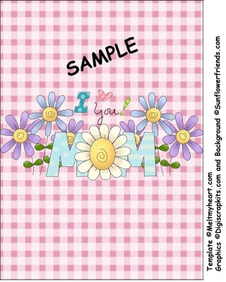 Happybird's Crafting Haven: FREE Printable 6.8 oz. Giant Candy Bar Wrapper for Mom