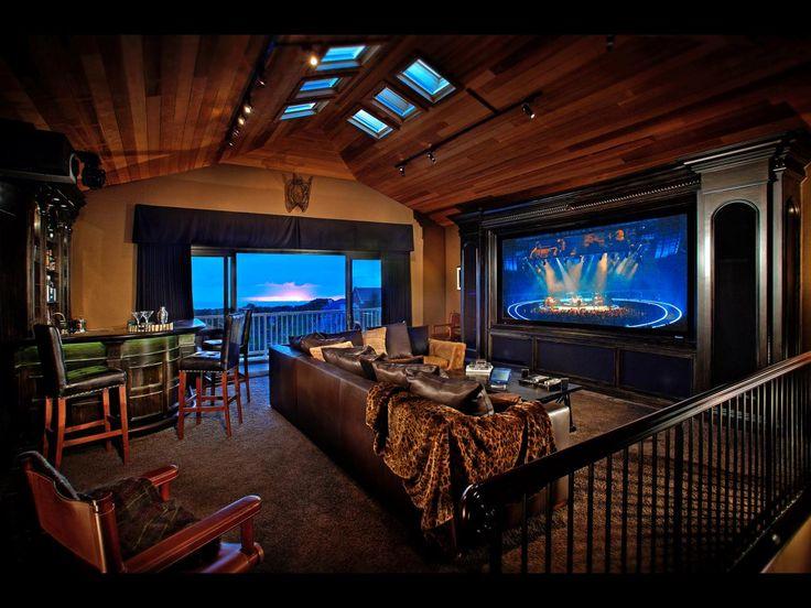 Delightful Media Room Design Ideas: Pictures, Options U0026 Tips