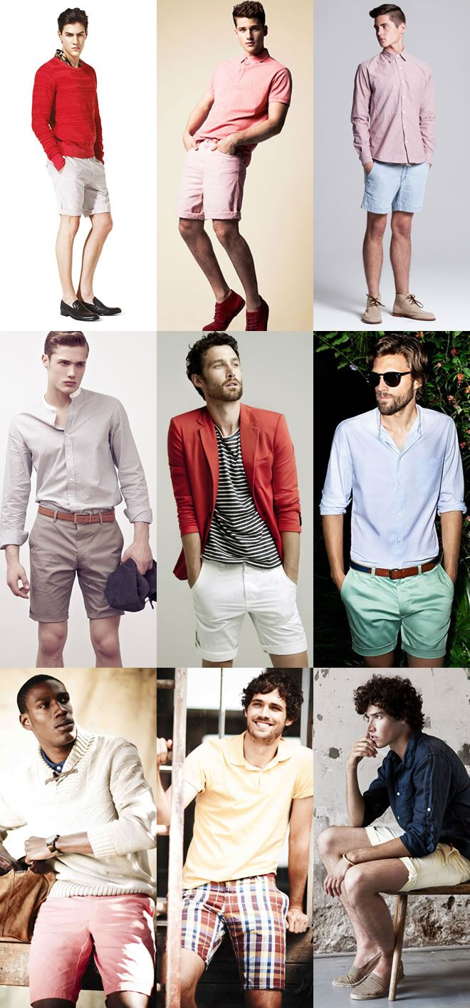 Key #tips for the summer season. Men's Key Summer Shorts Lookbook: