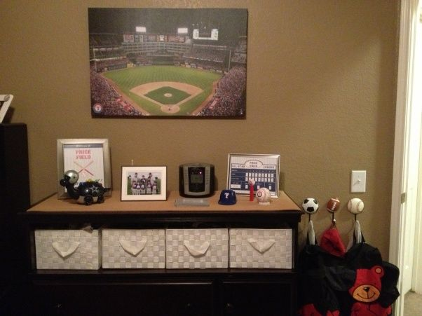 Twin Boys Sports Room, My twin 4 year old boys sports themed room. , Boys Rooms Design