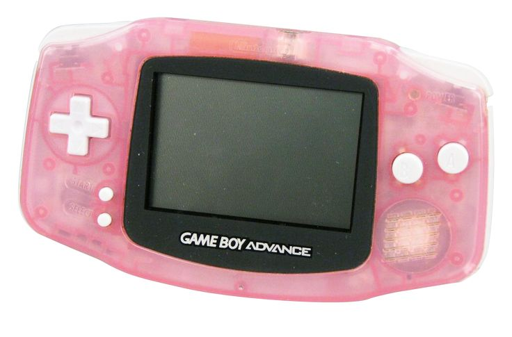 Pink Gameboy Advance - had this one!!!