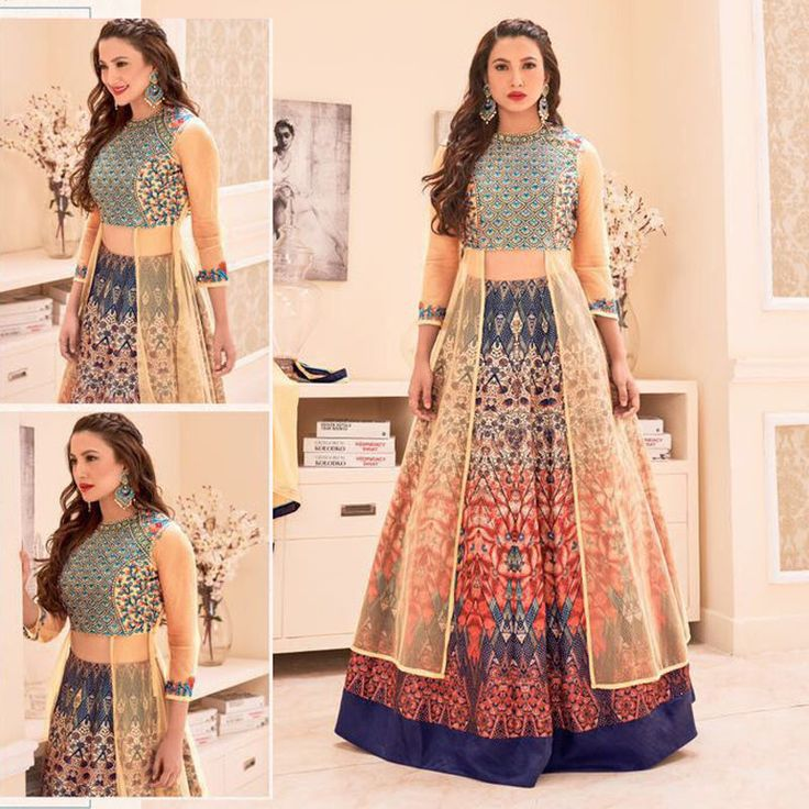 Bollywood Designer Indian Pakistani Asian Wedding Party New Anarkali Lehenga Set #Handmade #AnarkaliLehenga