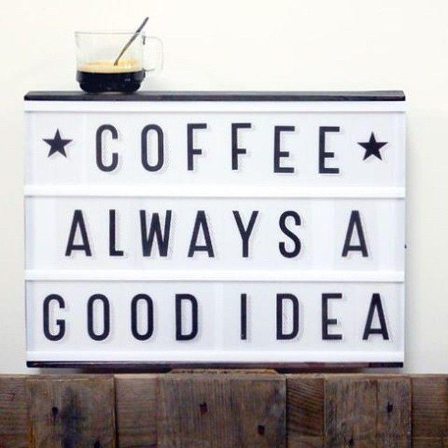 coffee is a great idea!!!!!