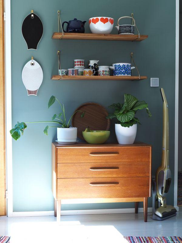 Vintage retro kitchen.