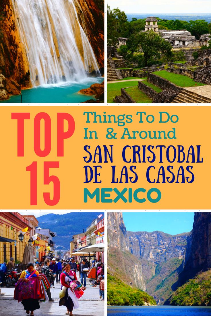 Top 15 things to do in & around San Cristobal de las Casas, Mexico. Helpful information for transportation plus a bonus guide on where to eat and stay!