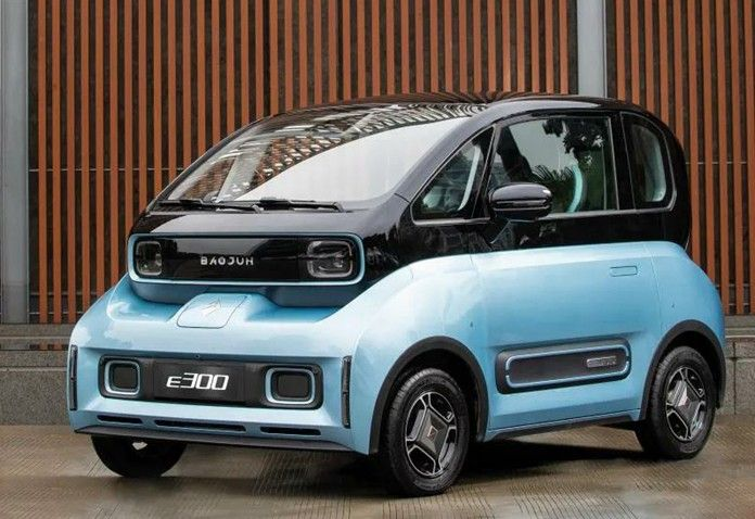 Baojun E300 Is An All New Mini Ev After E100 E200 Mini Mini Cars New Cars