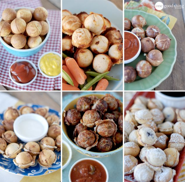 Six thinks you  can make in a cake pop maker