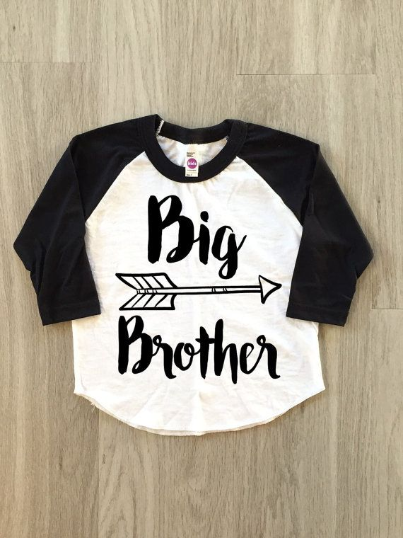 Big Brother Arrow Raglan  baby boy clothes by 8thWonderOutfitters