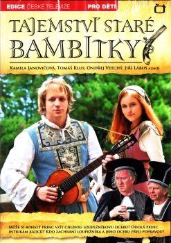 Pohádka s Tomášem Klusem Tajemství staré bambitky na DVD z Edice České televize.