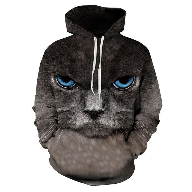 Grumpy Cat Hoodie  3D Printed Clothing/Accessories. FREE Shipping Worldwide!