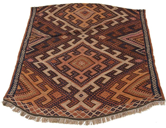 Originele Tribal Cicim Kilim (afmetingen 91 x 87 cm) - Iran Circa 1900-1920  Tribal Kilim Iraanse kunst circa 1900-1920.ANTIEKE KILIM authentiek en oprecht collector's item.Vorm: rechthoekigAfmeting: 91 x 87 cmDikte: 3-4 mmKetting en inslag materiaal: wolStapel materiaal: wol.Oorsprong: KilimEra: antiek collector's itemProductie techniek: handgeknoopte.Condition: perfect (neem een goede blik op alle foto's alvorens te kopen).Zeldzaamheid: zeldzaam.Certificaat: het tapijt wordt geleverd met…
