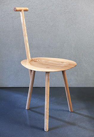 faye toogood. wooden spade chair