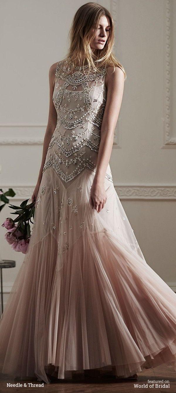 Needle & Thread Spring 2016 Wedding Dress
