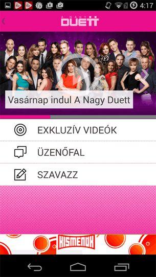 TV2 Live 1.1.7 Android alkalmazás letöltés ÚJ!  A TV2 Live Android alkalmazás segítségével már Te is részese lehetsz A Nagy Duett élő műsorának! Szavazz vagy szólj hozzá azokhoz, amit az adásban is megmutatunk.
