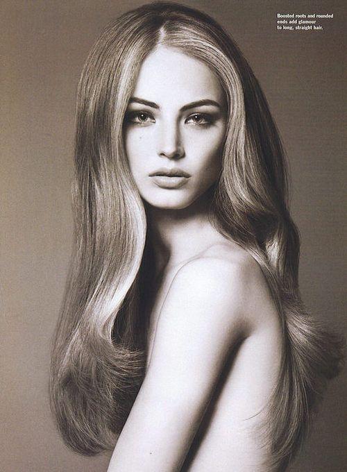 Ruslana Korshunova, HAIR.