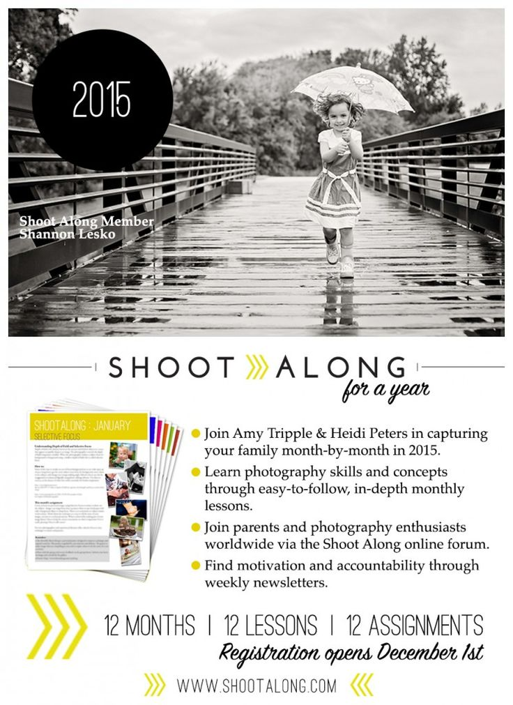 "Win a ""Shoot Along for a Year"" 2015 Membership!!!"
