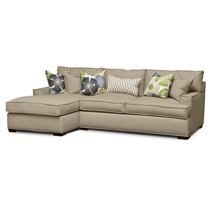 Lounger newport upholstery 2 pc sectional reverse for Best value living room furniture