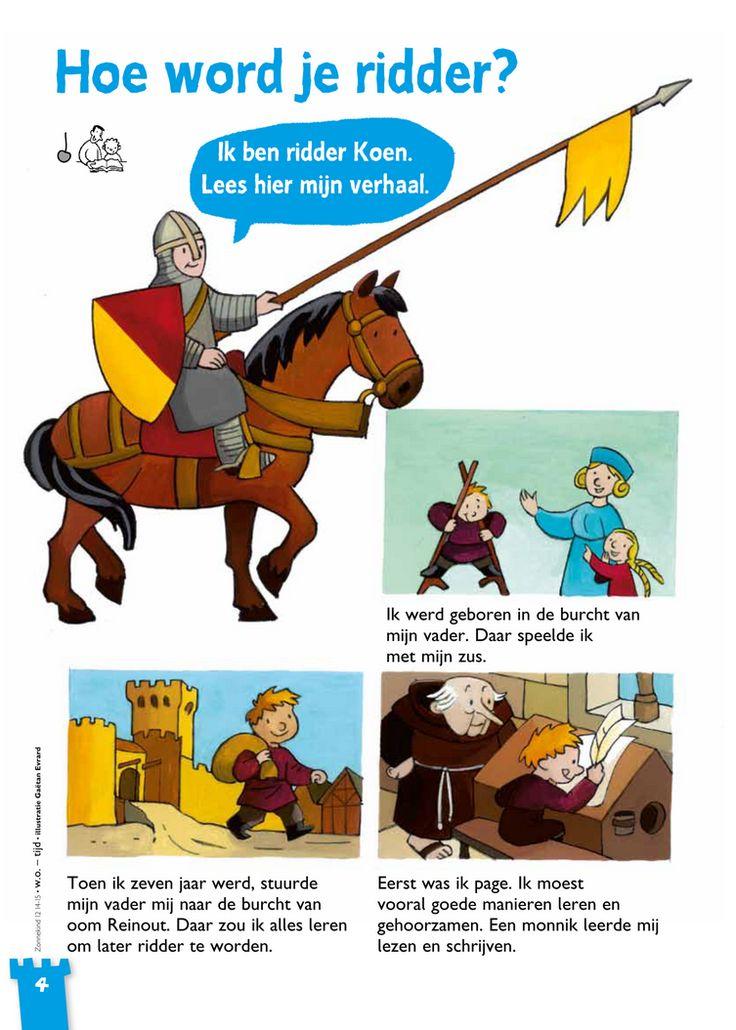 17 best images about thema ridders en kastelen on for Werkbladen ridders en kastelen
