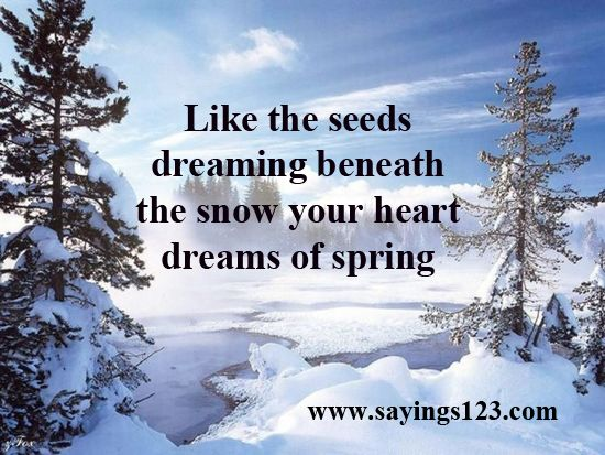 Spring sayings snow and the snow on pinterest