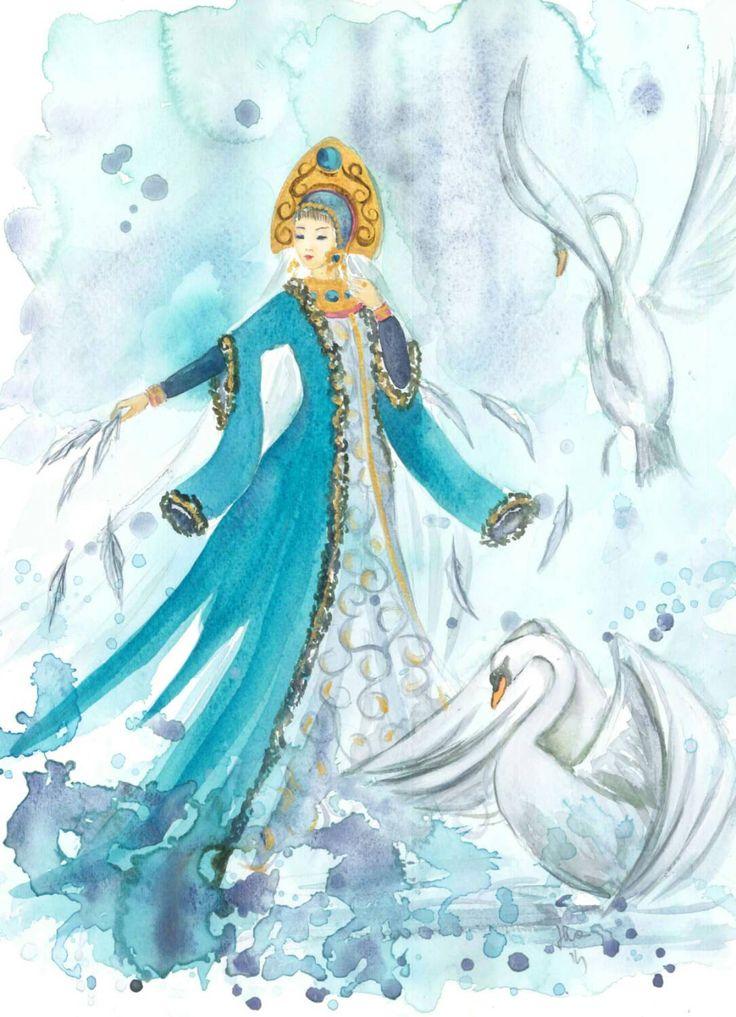 Картинки сказочные герои царевны, пожеланием доброго вечера