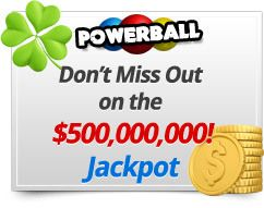 Play biggest powerball jackpots at www.playlottoworld.org