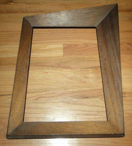 vtg 50s asymmetrical wood frame mid century retro eames carlo era googie atomic things pinterest googie mid century and woods - Mid Century Picture Frames