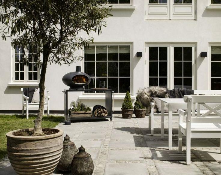 Poêle à bois design – des barbecues en plein air avec Morso