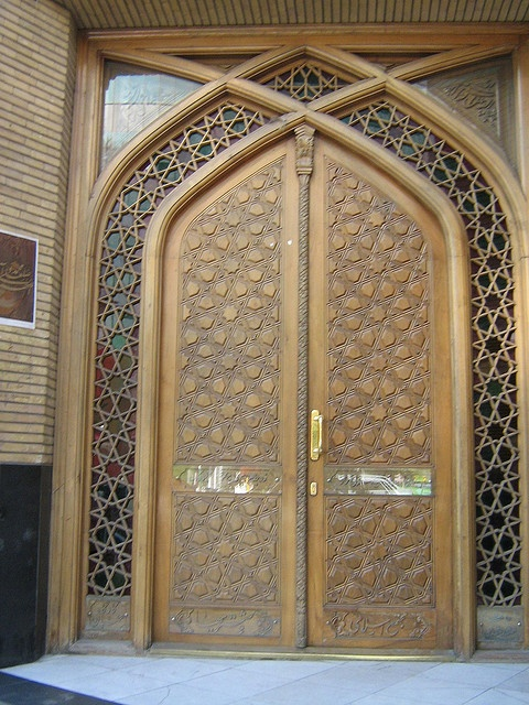 Iranian design of a door. & 83 best Iranian Architecture images on Pinterest | Iranian Persian ...
